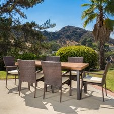 wicker-patio-dining-sets Wicker Patio Dining Sets