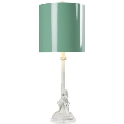 Loggerhead Parrot Palm Tree Lamp