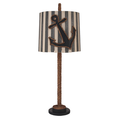 Coastal Straight Rope Anchor Lamp