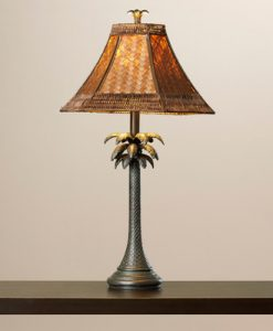 bay isle palm tree lamp