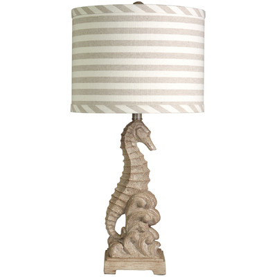 Beachcrest Colby Seahorse Table Lamp