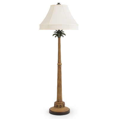 2-island-way-palm-tree-floor-lamp Coastal And Beach Floor Lamps