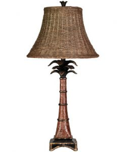 Bay Isle Home Tropical Palm Tree Lamp