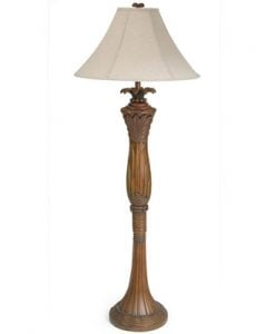 Island Way Bali Palm Tree Floor Lamp
