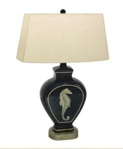 4-jb-hirsch-seahorse-table-lamp-247x300 Floor and Table Seahorse Lamps