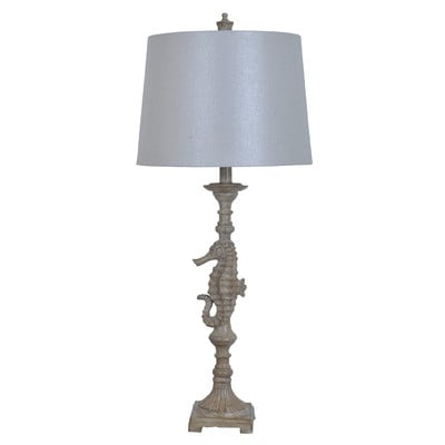 Crestview Seahorse Table Lamp