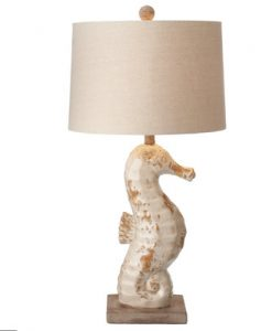 CBK Seahorse Themed Table Lamp
