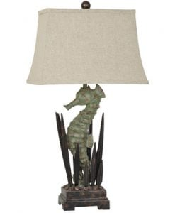 Crestview Collection Seahorse Table Lamp