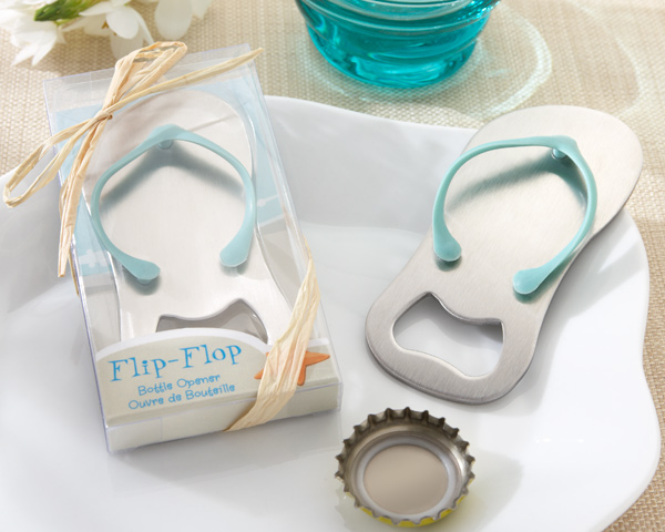 Flip-Flop-Bottle-Opener The Best Beach Wedding Favors You Can Buy
