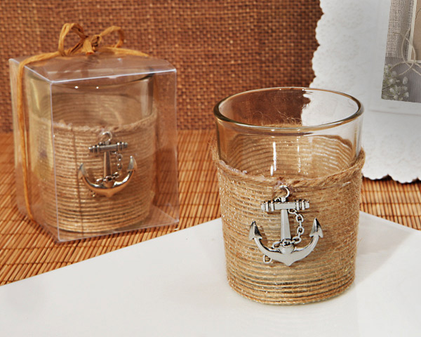 Unique-Rustic-Nautical-Candle-Holder The Best Beach Wedding Favors You Can Buy