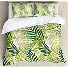 ambesonne-palm-leaves-duvet-cover The Best Palm Tree Bedding and Comforter Sets