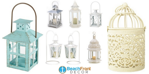 beach wedding lanterns