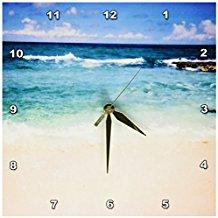 beautiful-sandy-beach-wall-clock-13 The Best Beach Wall Clocks You Can Buy