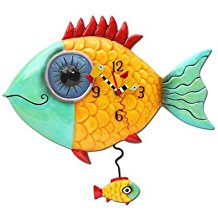 fish-clock-11 The Best Beach Wall Clocks You Can Buy