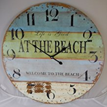 life-is-good-at-the-beach-wall-clock-1-1 The Best Beach Wall Clocks You Can Buy