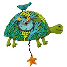 marshell-turtle-wall-clock-6 The Best Beach Wall Clocks You Can Buy