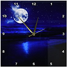 moon-starry-sky-wall-clock-10 The Best Beach Wall Clocks You Can Buy