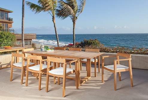 Horizon 9 Piece Teak Dining Set