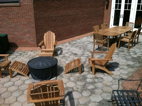 Outdoor Teak Patio