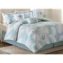 palm-grove-tree-blue-duvet-cover-set The Best Palm Tree Bedding and Comforter Sets