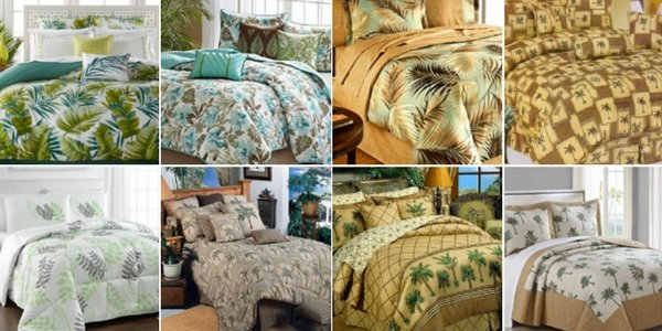 palm tree comforter and bedding sets