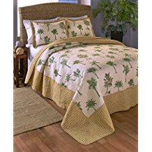 palm-tree-quilt-set The Best Palm Tree Bedding and Comforter Sets