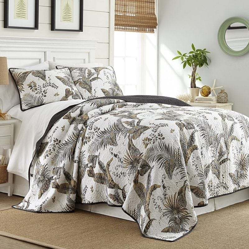 tahiti-chezmoi-collection-palm-tree-quilt-800x800 The Best Palm Tree Bedding and Comforter Sets