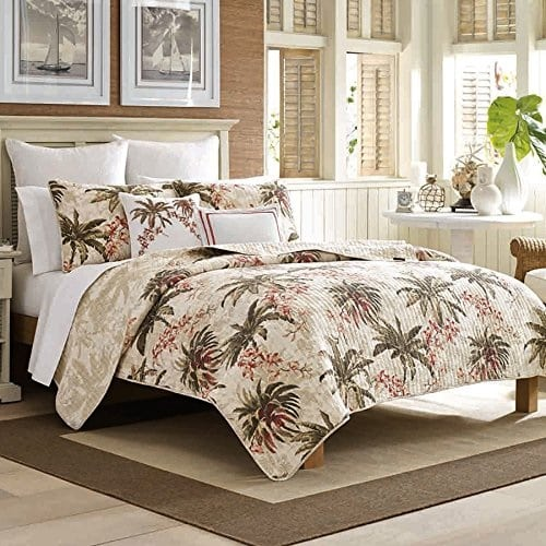 tommy-bahama-bonny-cove-palm-tree-quilt The Best Palm Tree Bedding and Comforter Sets