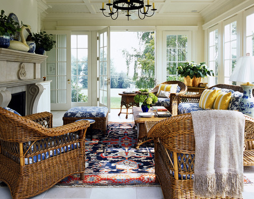 15 Beautiful Wicker Furniture Design Inspirations