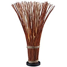 14-natural-finish-straw-floor-lamp Coastal And Beach Floor Lamps