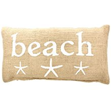 4-beach-french-country-burlap-pillow Coastal Throw Pillows & Beach Throw Pillows