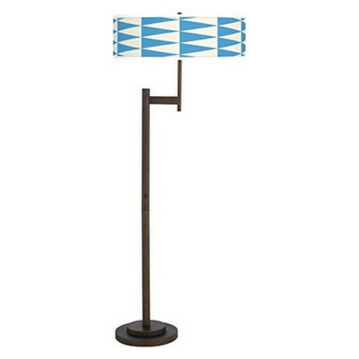 Coastal-Pennant-Giclee-Parker-Light-Blaster-Floor-Lamp-1 Coastal And Beach Floor Lamps