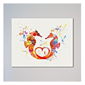 Seahorses-Love-Gift The Best Seahorse Artwork You Can Buy