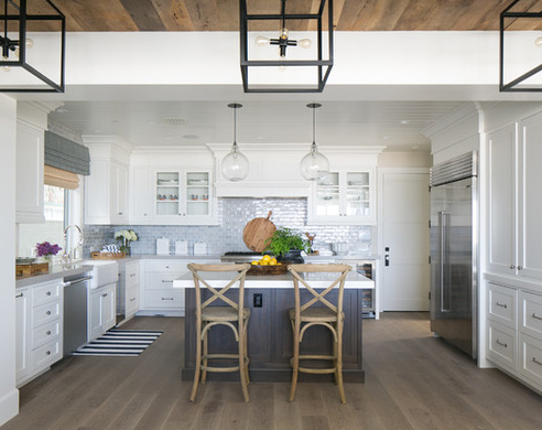 20 Beautiful Beach Themed Kitchen Designs