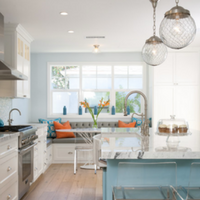 beach-kitchen-designs Best Beach and Coastal Kitchen Decor