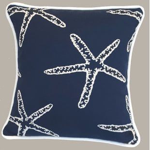 beach-throw-pillow Coastal Throw Pillows & Beach Throw Pillows