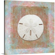 burlap-sand-dollar-oasis-painting The Best Sand Dollar Wall Art You Can Buy