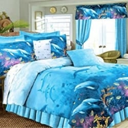 dolphins-kids-beach-bedding The Best Kids Beach Bedding You Can Buy