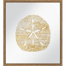 golden-sand-dollar-framed-painting The Best Sand Dollar Wall Art You Can Buy