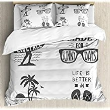 quote-beach-theme-duvet-cover-set-for-kids The Best Kids Beach Bedding You Can Buy