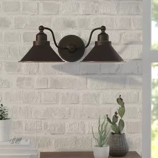 shaff-2-light-wall-sconce Beach Wall Sconces & Nautical Wall Sconces