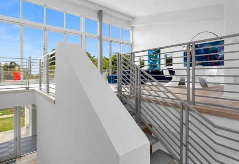 stairs-to-outside-5-800x550 Monday Miami Beach Homes For Sale - Week 1