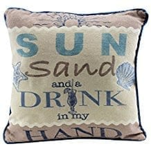 sun-sand-drink-in-my-hand-throw-pillow Coastal Throw Pillows & Beach Throw Pillows