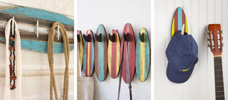 Surfboard Towel Hooks and Surfboard Wall Hooks