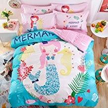 svetanya-mermaid-duvet-cover The Best Kids Beach Bedding You Can Buy