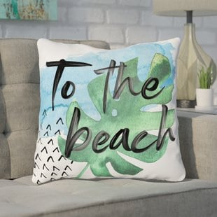tuers-to-the-beach-throw-pillow Coastal Throw Pillows & Beach Throw Pillows