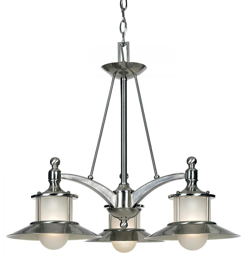 1-brushed-nickel-chandelier The Best Nautical Chandeliers You Can Buy