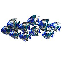 2-nautical-fish-wall-decor-metal The Best Beach Wall Decor You Can Buy