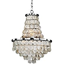 8-seashell-themed-chandelier The Best Beach Themed Chandeliers You Can Buy