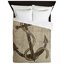 CafePress-Vintage-Anchor-Queen-Duvet-Cover The Best Nautical Duvet Covers You Can Buy
